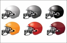 Football Vector Helmets