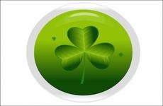 Green Clover St Patrick