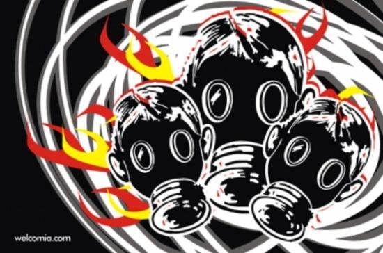 Three Masks Free Vector