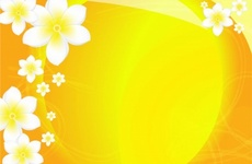 Yellow Floral Vector