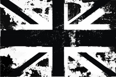 UK Vector Flag - Grunge