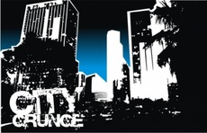 City Grunge Free Vector