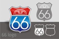 Free Road 66 Logo