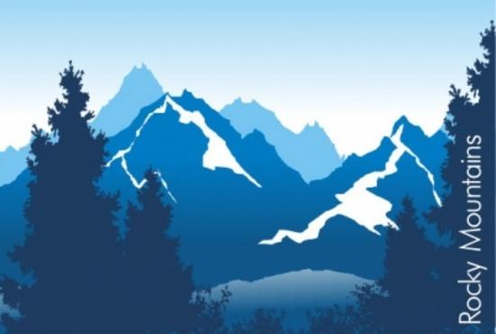 Free Mountains Vector