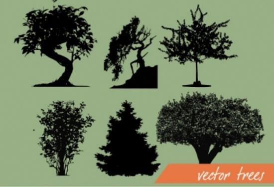 Vector Trees - Tree Set