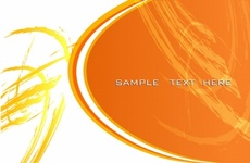 Orange Grunge Vector