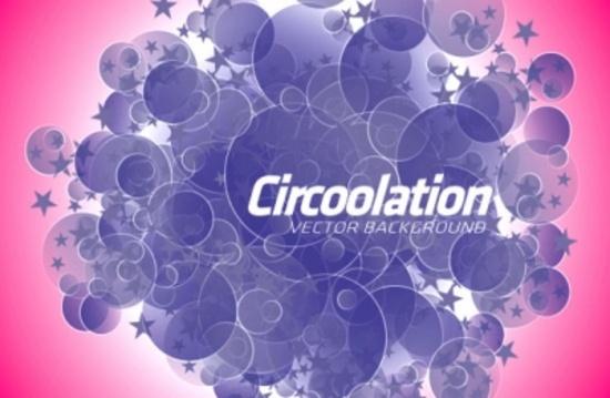 Circles Mania Free Vector Design