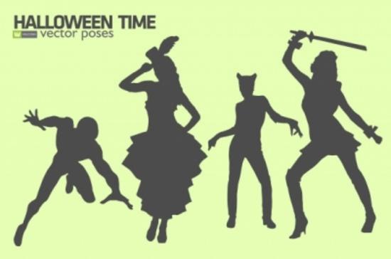 Halloween Free Silhouettes