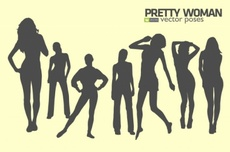 Pretty Woman Vector