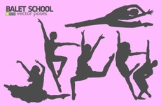 Dance and Dancers Vector Graphic