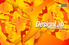 Abstract Orange Free Vector Design