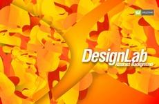 Abstract Orange Free Vector Design