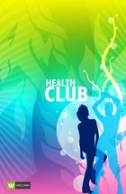 Health Club Free Vector Design
