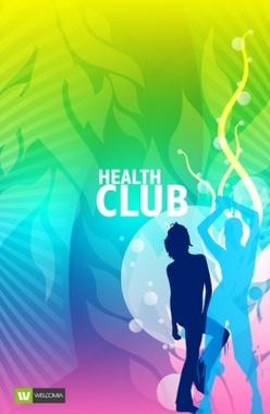 Health Club Free Vector Design