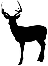 Deer Shape Free Vector