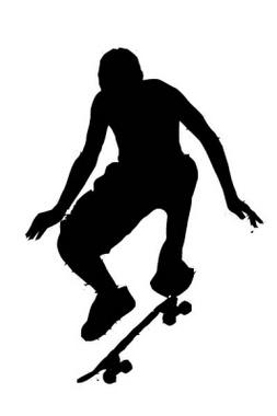 Skater Free Vector