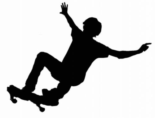 Skateboarding Free Vector