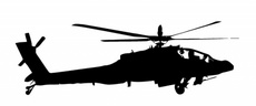 Free Apache Helicopter Vector