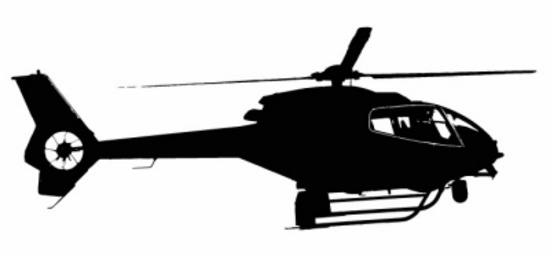 TV Station Helicopter Free Vector