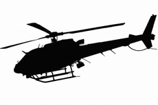Police Helicopter Free Vector