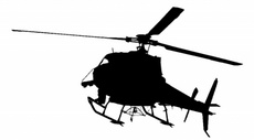 TV Chopper Free Vector