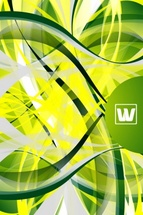 Cool Green Vector Background