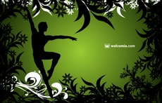 Free Ballet Dancer Vector Design