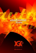 Autumn Time Vector Design