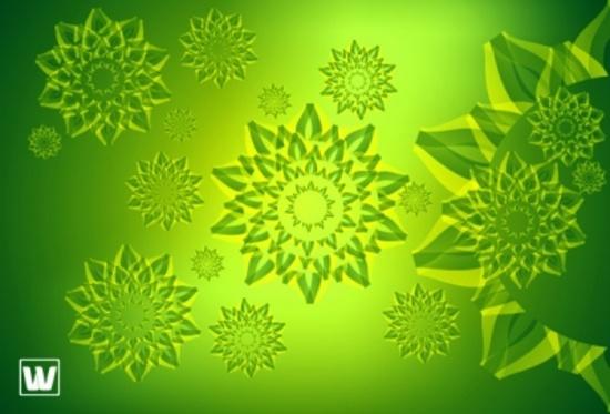 Cool Green Free Vector Design