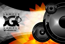 Sound and Speakers Free Vector Design