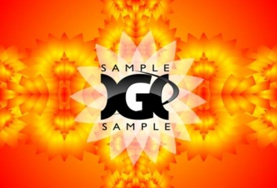 Free Orange Vector Pattern