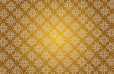 Free Golden Vector Pattern