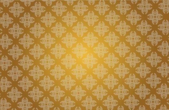 Free Golden Vector Pattern