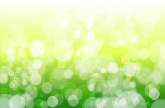 Spring Particles Vector Design