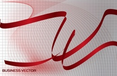 Red Ribbons Free Vector Art