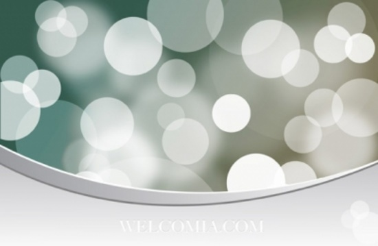 Glowing Lights Vector Graphic
