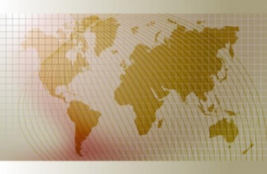 World Vector Background - World Map
