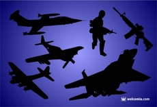 Free Military Silhouettes