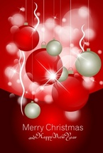 Free Christmas Vector Ornaments