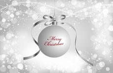 White Christmas Free Vector