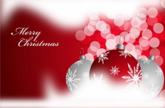 Maroon Christmas Ornaments
