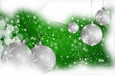 Snowy Christmas Vector Art