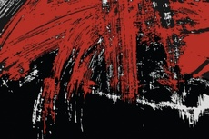 Red-Black Free Grunge Smudges