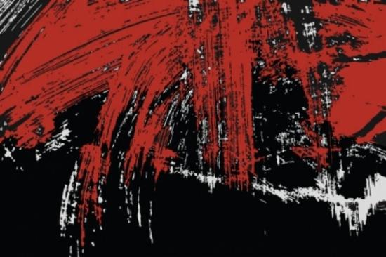 Red-Black Free Grunge Smudges