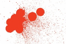 Blood Splashes Free Vector