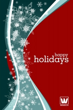 Holiday Season Vector Background