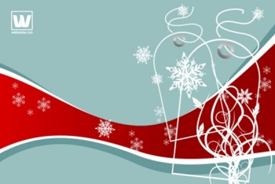Invisible Tags Holiday Vector Design