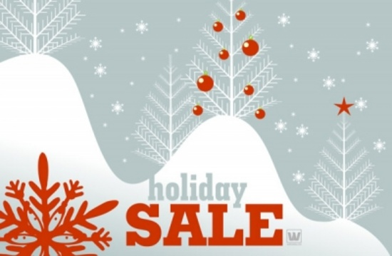 Holiday Sale Vector Art