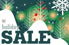 Holiday Sale Business Vector