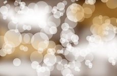 Golden Blurred Vector Background